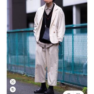 HARE - kutir クティール セットアップ テーラードジャケット ワイドパンツ パンツ