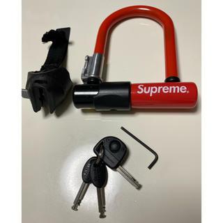 シュプリーム(Supreme)のSupreme KRYPTONITE U-lock 自転車 鍵 ユーロック(パーツ)