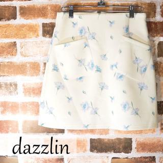 ダズリン(dazzlin)のdazzlin 花柄プリーツスカート(ミニスカート)