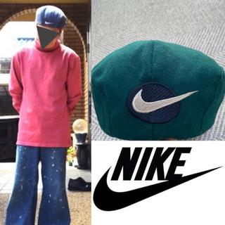 ナイキ(NIKE)の90's NIKE ナイキ 菅田将暉 ベレー帽 ビーニー ビッグスウォッシュ(ハンチング/ベレー帽)