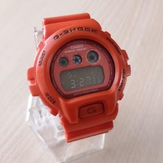 カシオ(CASIO)のCASIO G-SHOCK DW-6900MM オレンジ(腕時計(デジタル))