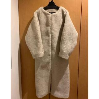ルームサンマルロクコンテンポラリー(room306 CONTEMPORARY)のOver Boa Long Coat(ロングコート)