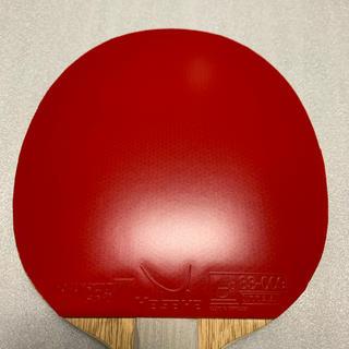 ヤサカ(Yasaka)の☆ほぼ新品☆ ラクザ 7 ソフト 赤 中厚 卓球 ラバー ヤサカ(卓球)