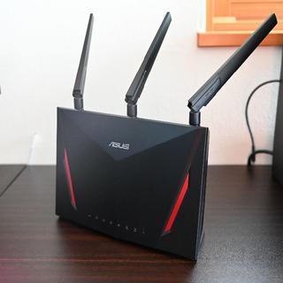エイスース(ASUS)のASUS RT-AC86U 無線LAN ゲーミング ルーター(PC周辺機器)