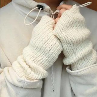 トゥデイフル(TODAYFUL)のTODAYFUL ニットアームウォーマー アームウォーマー 手袋(手袋)