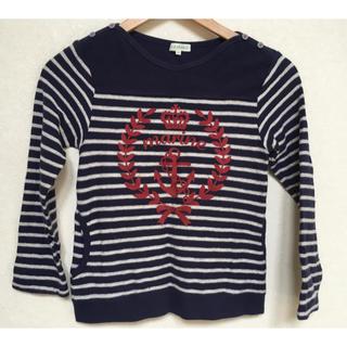 サンカンシオン(3can4on)の❤️3can4on サンカンシオン 長袖カットソー  ロンT130cm❤️(Tシャツ/カットソー)