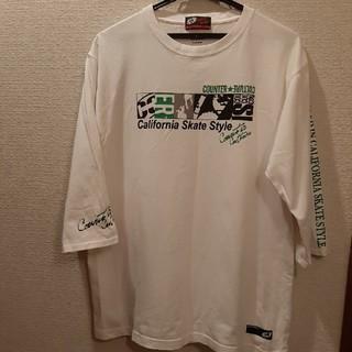 カウンターカルチャー(Counter Culture)のCounter Culture メンズ七分袖シャツ XL(Tシャツ/カットソー(七分/長袖))