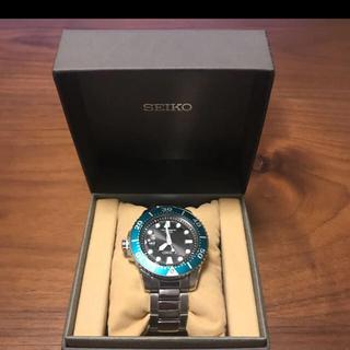 セイコー(SEIKO)の限定モデル SEIKO 腕時計 DIVERS WATCH グリーンベゼル(腕時計(アナログ))