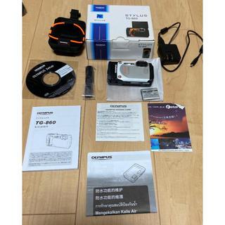 オリンパス(OLYMPUS)のオリンパス STYLUS TG-860   防水性能15m 可動式液晶モニター(コンパクトデジタルカメラ)