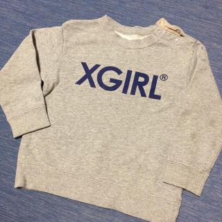 エックスガールステージス(X-girl Stages)のエックスガールステージス   トレーナー エックスガール キッズ S(その他)