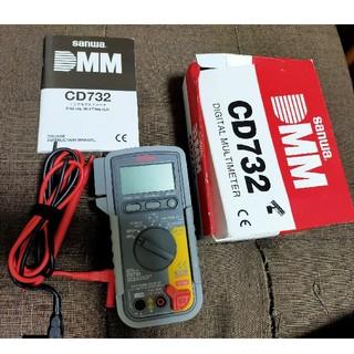 SANWA(三和電気計器) デジタルテスター CD732(メンテナンス用品)