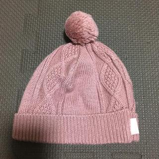 セレク(CELEC)のCELEC 可愛いボンボンニット帽 44-48cm(帽子)