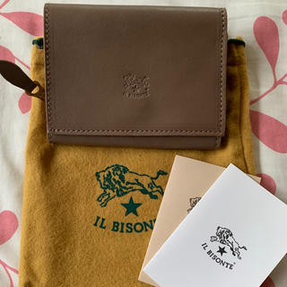 イルビゾンテ(IL BISONTE)のイルビゾンテ折財布 新品未使用(財布)