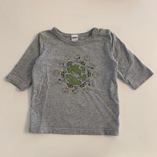 シップス(SHIPS)のシップスキッズ スヌーピーコラボ 七分袖Tシャツ ロンT 90cm(Tシャツ/カットソー)
