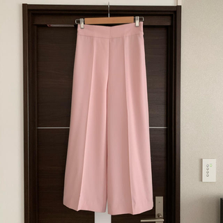 ZARA - ZARA ザラ ワイドパンツ ガウチョパンツ ピンク