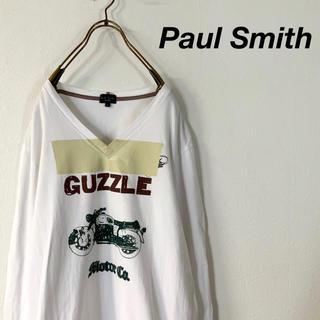 ポールスミス(Paul Smith)のPaul Smith バイクプリント ロングスリーブ(Tシャツ/カットソー(七分/長袖))