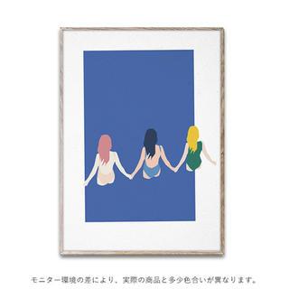 アクタス(ACTUS)の【新品未使用】ペーパーコレクティブ ポスター 30×40cm Girls(その他)