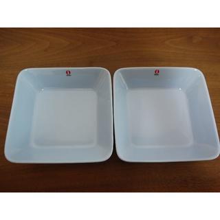イッタラ(iittala)のイッタラ ティーマ ライトブルー スクエアプレート 2枚 新品    (食器)
