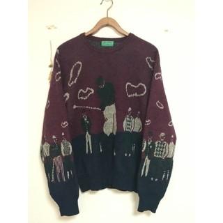 Munsingwear - レトロニットヴィンテージセーター