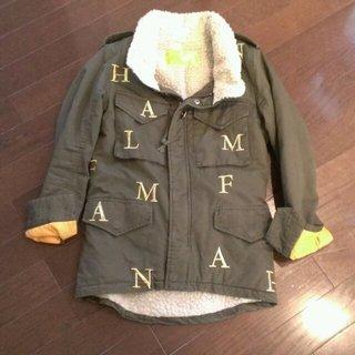 ハーフマン(HALFMAN)のハーフマン Halfman ボアミリタリ(ミリタリージャケット)