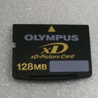 オリンパス(OLYMPUS)のXDピクチャーカード【128MB】OLYMPUS 中古(PC周辺機器)
