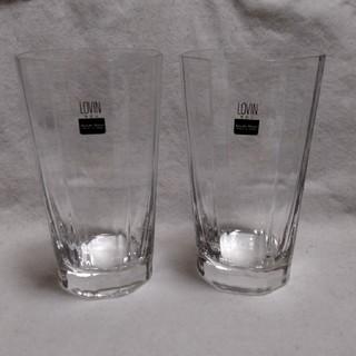 トウヨウササキガラス(東洋佐々木ガラス)の◆未使用「ササキガラス」グラス2個セット(グラス/カップ)