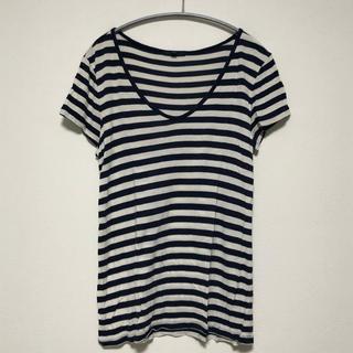 ギャップ(GAP)のボーダーTシャツ(Tシャツ(長袖/七分))