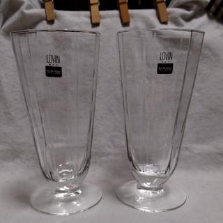 トウヨウササキガラス(東洋佐々木ガラス)の◆未使用「ササキガラス」カクテルグラス2個セット(グラス/カップ)