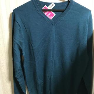 ムジルシリョウヒン(MUJI (無印良品))のVネック セーター クリーニング済み(ニット/セーター)