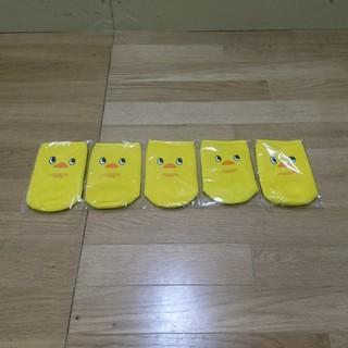 日清食品 - 新品 チキンラーメン チキラ ひよこちゃん ペットボトルカバー 5点