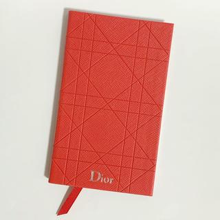 ディオール(Dior)のDior ノベルティ 手帳(手帳)