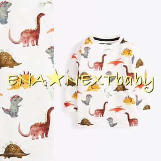NEXT - next♡ネクスト マルチ 恐竜柄 長袖トップス