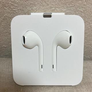 アップル(Apple)のiPhone Apple 純正イヤホン(ヘッドフォン/イヤフォン)