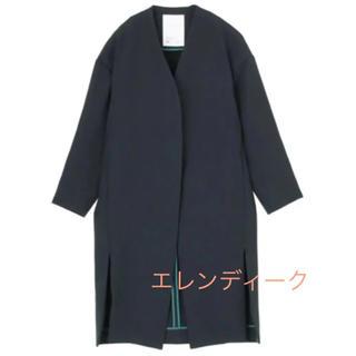 エンフォルド(ENFOLD)の新品 エレンディーク 薄手コート 01 ネイビー(スプリングコート)