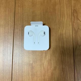 iPhoneイヤホン ライトニング(ヘッドフォン/イヤフォン)