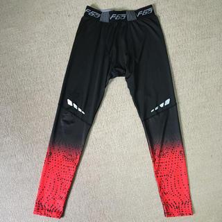 メンズ スポーツレギンス(スパッツ ) XL 赤 レッド