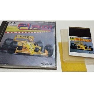 エヌイーシー(NEC)のPCエンジン F1パイロット(家庭用ゲームソフト)