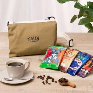 KALDI - 新品 カルディ コーヒーの日 サコッシュ&ドリップコーヒー10個 KALDI
