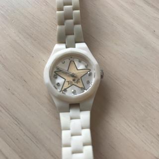 アニエスベー(agnes b.)のアニエスベー カジュアルウォッチ腕時計白稼働品agnes.b(腕時計)