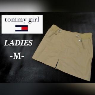 トミーヒルフィガー(TOMMY HILFIGER)のレディースM◇TOMMY GIRL◇ミニスカート(ミニスカート)
