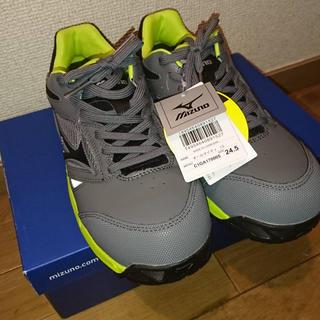 ミズノ(MIZUNO)のふえみ様専用  安全靴 オールマイティー 24.5 新品(その他)
