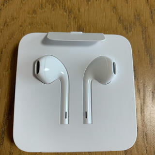アップル(Apple)のアップル純正イヤホン(ライトニングケーブル)(ヘッドフォン/イヤフォン)