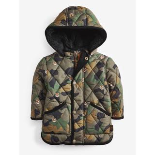 新品❣️ネクスト 恐竜なりきり キルティングジャケット コート