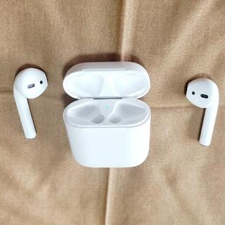 アップル(Apple)のAirPods 第1世代 中古(ヘッドフォン/イヤフォン)