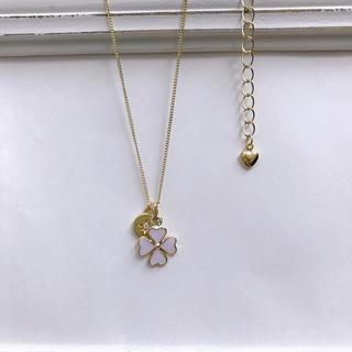 ボウダンショウネンダン(防弾少年団(BTS))のclover💜 necklace 《 JM💛 》④(ネックレス)