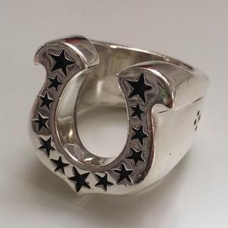 テンダーロイン(TENDERLOIN)の美品 13号 テンダーロイン T-H.S.RING ホースシュー リング(リング(指輪))