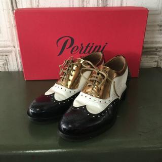 ユナイテッドアローズ(UNITED ARROWS)のスペイン製 Pertini ペルティニ シューズ USED(ローファー/革靴)
