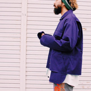 アンユーズド(UNUSED)のUNUSEDアンユーズド Cut Off Cotton Jacket ジャケット(ミリタリージャケット)
