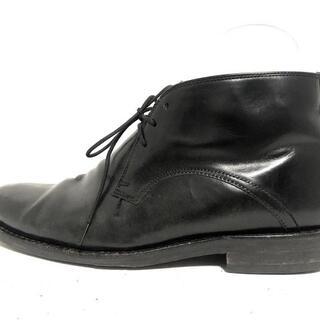 コールハーン(Cole Haan)のコールハーン ショートブーツ メンズ 黒(ブーツ)