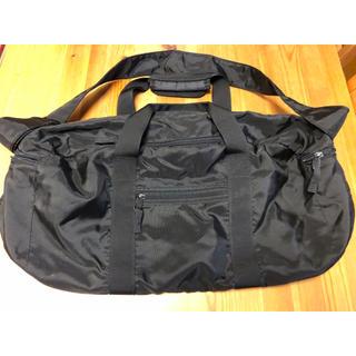ムジルシリョウヒン(MUJI (無印良品))の無印良品 ボストンバッグ 黒(ボストンバッグ)